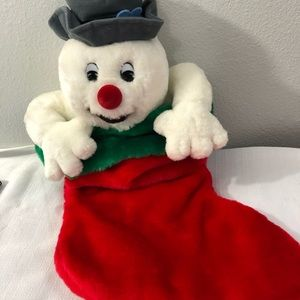 Frosty the Snowman Singing Stocking